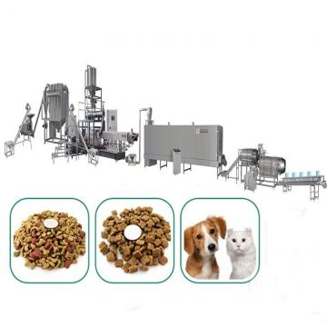 High Capacity Automatic Dog Cat Dry Animal Pet Food Pellet Making Machine