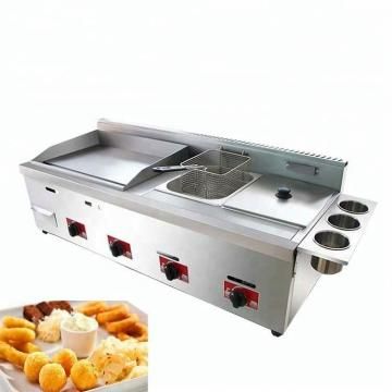 Automatic Fried Chicken Equipment Samosa Turkey Deep Fryer Oil Filter Pani Puri Egg Frying Machine